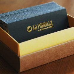 impresion tarjetas visita restaurante